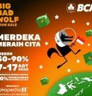 Sambut Hari Kemerdekaan dan Hut Ke-11 Tokopedia, Big Bad Wolf Kembali di Gelar